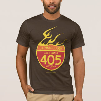 CARMAGEDDON 405 on fire T-Shirt