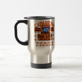 Carmageddon - 405 - Road Closed Travel Mug