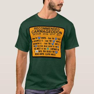 Carmageddon - Recommended Detour T-Shirt