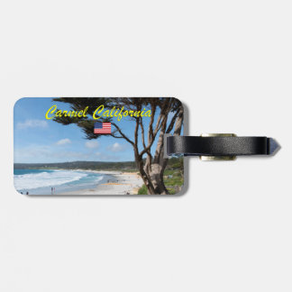 CARMEL BY THE SEA - MONTEREY CALIFORNIA USA LUGGAGE TAG