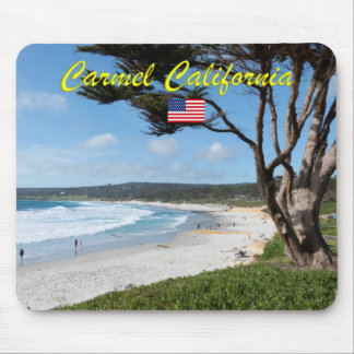 CARMEL BY THE SEA - MONTEREY CALIFORNIA USA MOUSE PAD