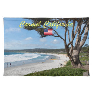 CARMEL BY THE SEA - MONTEREY CALIFORNIA USA PLACEMAT