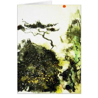 Carmel Lone Cypress Card