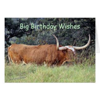 Carmel Longhorn-customize any occasion Card