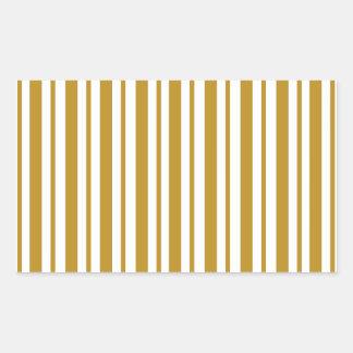 Carmel Pinstripe Sticker