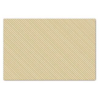 Carmel Pinstripe Tissue Paper