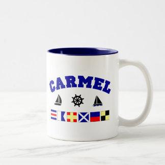 Carmel Two-Tone Coffee Mug
