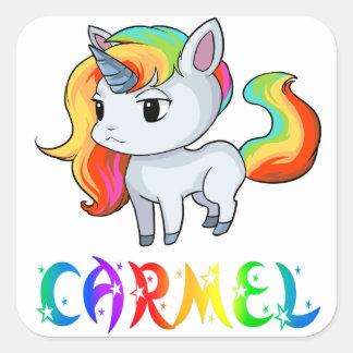 Carmel Unicorn Sticker