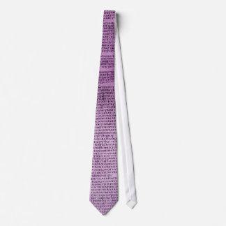Carmen Christi Purple Tie