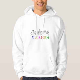 CARMEN FINGERSPELLED ASL NAME SIGN HOODIE