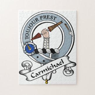Carmichael Clan Badge Jigsaw Puzzle