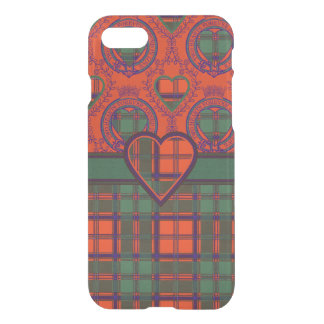 Carmichael clan Plaid Scottish kilt tartan iPhone 7 Case