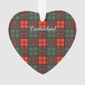 Carmichael clan Plaid Scottish kilt tartan Ornament