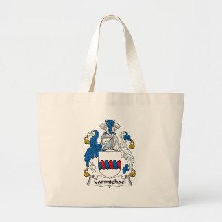 Carmichael Family Crest Jumbo Tote Bag
