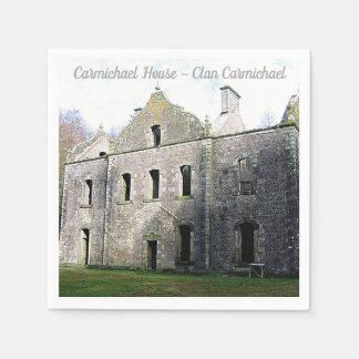 Carmichael House – Clan Carmichael Paper Napkins