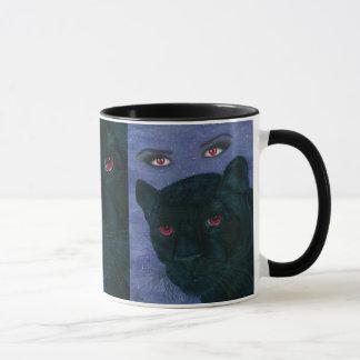 Carmilla Black Panther Vampire Gothic Art Mug