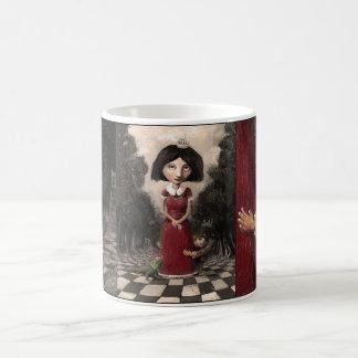 Carmine princess coffee mug
