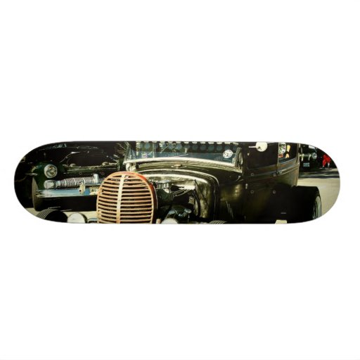 Carnage on Larimer Custom Board Skate Deck