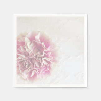 Carnation and Lace Party Napkins