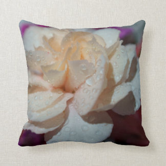 "Carnation Flower, Throw Pillow 16"" x 16"""
