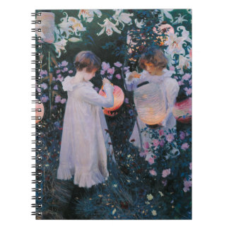 Carnation, Lily, Lily, Rose by John Singer Sargent Notebook