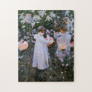 Carnation, Lily, Lily, Rose Jigsaw Puzzle