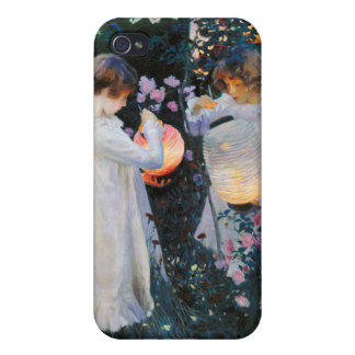 Carnation, Lily, Lily, Rose - John Singer Sargent iPhone 4/4S Covers