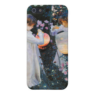 Carnation, Lily, Lily, Rose - John Singer Sargent iPhone 5 Cases