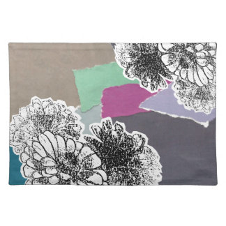 Carnation of india placemat