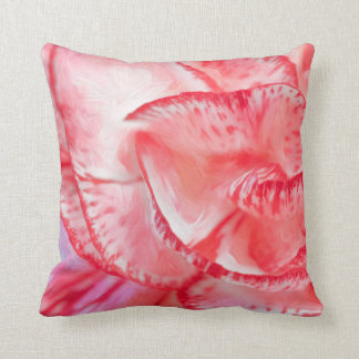 Carnation Polyester Throw Pillow