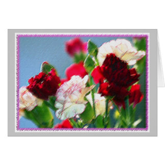 Carnations Card