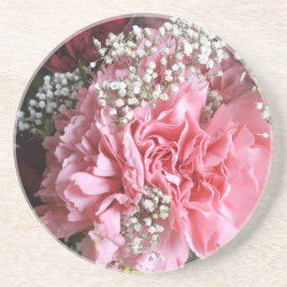 Carnations Coaster