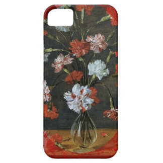 Carnations In A Glass Vase Case For The iPhone 5