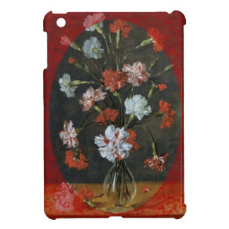 Carnations In A Glass Vase Cover For The iPad Mini