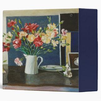 Carnations in a spiral jug 2000 binders