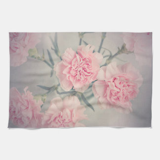 Carnations Kitchen Towel