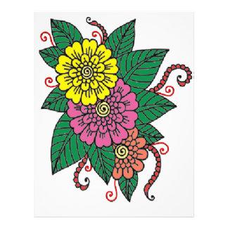 Carnations Letterhead