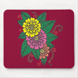 Carnations Mouse Pad