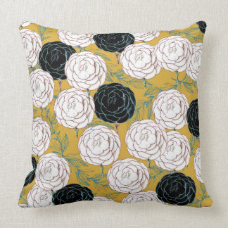 Carnations Throw Pillow