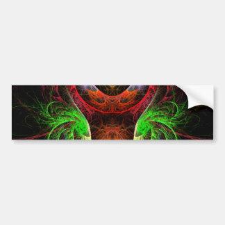 Carnaval Abstract Art Bumper Sticker