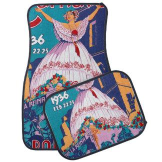 Carnaval de 1936, Feb. 22-25, Panama Car Floor Carpet