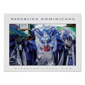 CARNAVAL DOMINICANO POSTER