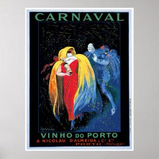 """Carnaval"" Vinho do Porto Poster"