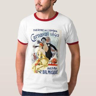 Carnaval vintage 1892 de théâtre d'opéra de Paris T-shirt