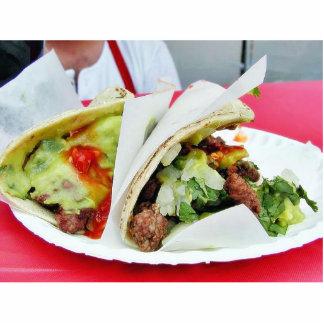 Carne Asada Tacos Guacamole Standing Photo Sculpture