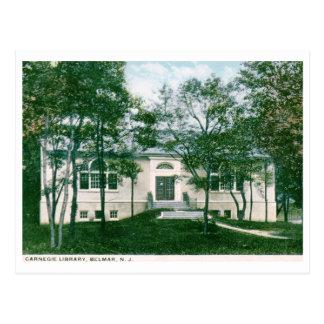 Carnegie Library, Belmar, NJ Vintage Postcard