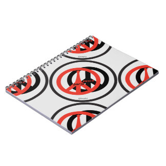 Carnet Peace and Coils Steph2 Notebook
