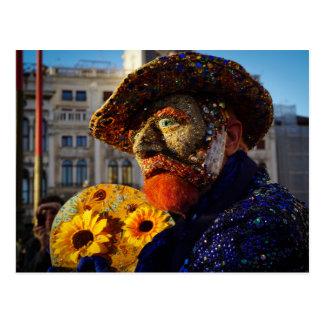 Carnevale 3 postcard