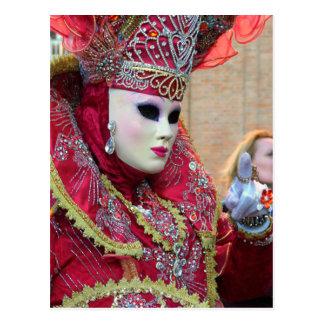 Carnevale 4 postcard