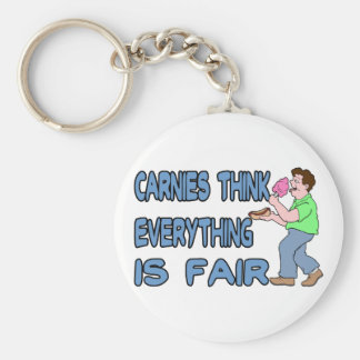 Carnies Think Keychain